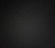 Texture micro de configuration de fibre de nid d'abeilles. Images stock