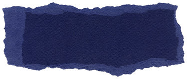 Isolated Fiber Paper Texture - Midnight Blue XXXXL Stock Image
