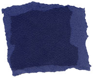 Isolated Fiber Paper Texture - Midnight Blue XXXXL Stock Images