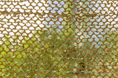 Texture military camouflage nets on day time image stock image