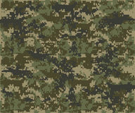 Texture military camouflage repeats seamless army. Green hunting Royalty Free Stock Photos
