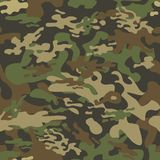 Texture military camouflage repeats seamless army green hunting royalty free illustration