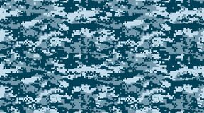 Free Texture Military Camouflage Vector Repeats Seamless Army Blue Hunting Royalty Free Stock Photos - 125091258