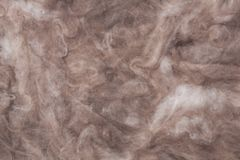 The texture of mineral wool for insulating the walls. Insulation for the roof and walls of the house mineral wool Royalty Free Stock Image