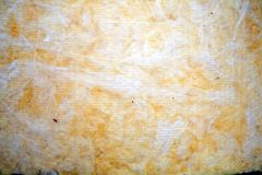The texture of mineral wool for insulating the walls. Insulation for the roof and walls of the house mineral wool Stock Photo
