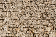 Texture, modèle, fond de mur en pierre médiéval Image libre de droits