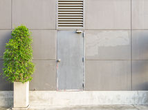 Texture of modern the door or gate background. Stock Images