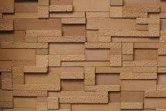 Texture moderne de mur de briques Images libres de droits
