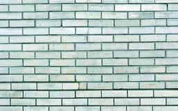 Texture modifiée la tonalité cyan de mur de briques Photos stock