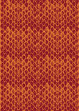Texture modulaire Two-tone de peau de serpent Photo stock