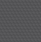 Texture monochrome de modèle d'hexagone Photo stock