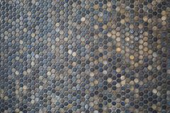 Texture mosaic on the wall royalty free stock photos