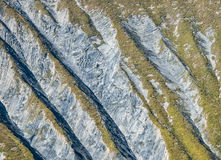 Texture on the mountain side, Ecrins,Delfinato,France Royalty Free Stock Image