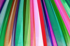 Texture of multi color fabric Royalty Free Stock Photography