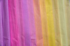 Texture multi de tissu de couleur Photographie stock libre de droits