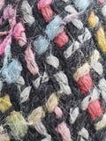 texture multicolore de laine image libre de droits