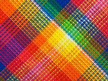 Texture multicolore de tissu images libres de droits