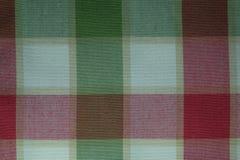 Texture multicolored cotton fabric Stock Image