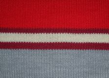 Texture of multicolored woolen fabric Stock Photos