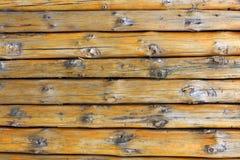 Texture Mur des logs images stock