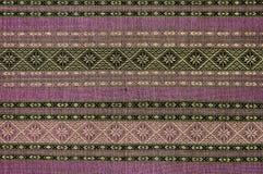 Texture of native thai cloth Stock Photos