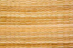 Texture of native thai style weave Stock Image