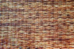 Texture of native thai style weave sedge mat background Royalty Free Stock Photos