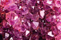 Texture from natural amethyst Royalty Free Stock Images