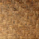 Texture of natural bamboo Weave background Royalty Free Stock Photography
