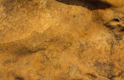 Texture of natural brown hematite Stock Photography