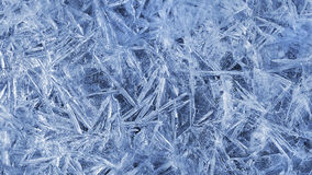 Texture of natural ice pattern Royalty Free Stock Photography