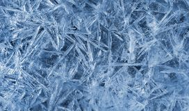 Texture of natural ice pattern Stock Photo