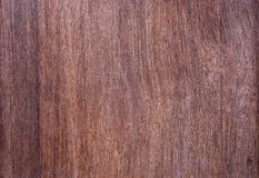 Texture natural line pattern of dark brown wood. Use for background royalty free stock photography