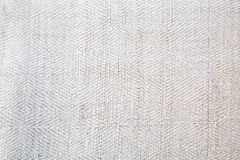 Texture of natural linen fabric with pattern. royalty free stock photography