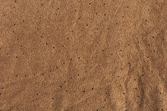 Texture of natural suede leather Stock Photography