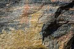 Texture of natural wild stone royalty free stock images