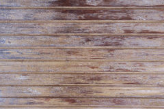 Texture of natural wooden fence Royalty Free Stock Images