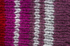 Texture natural wool knit pattern Stock Image