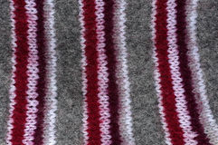 Texture natural wool knit pattern Royalty Free Stock Photography