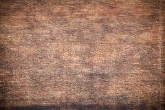 Texture of nature wood background closeup in vignette Royalty Free Stock Photos