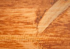 Texture naturelle de panneau en bois brun clair grunge Image libre de droits