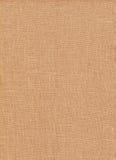 Texture naturelle de tissu de Brown Images libres de droits