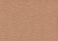 Texture naturelle de tissu de Brown Image libre de droits