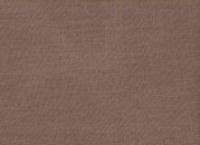 Texture naturelle de tissu de Brown Photographie stock libre de droits