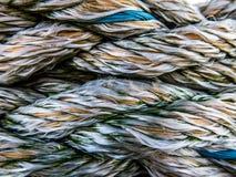 Texture nautique de corde Images libres de droits