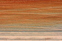 Texture of Navajo Sandstone. Natural background with close up image of Navajo Sandstone royalty free stock photography