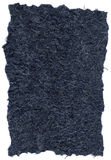 Isolated Rice Paper Texture - Navy Blue XXXXL stock photography