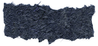 Isolated Rice Paper Texture - Navy Blue XXXXL Royalty Free Stock Images