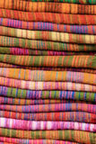 Texture of Nepalese national fabric, background Stock Photography