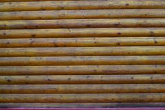 Texture: nice wooden logs royalty free stock photography